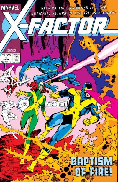X-Factor (1986) #1
