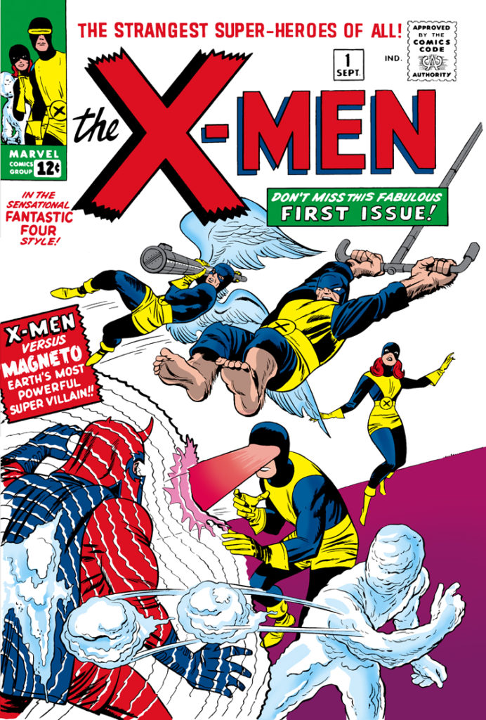 X-Men Omnibus Vol. 1 by Lee Kirby variant kirby classic cover