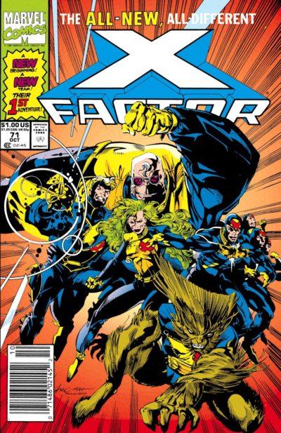 X-Factor (1986) - #71