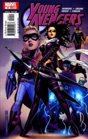 Young Avengers 1 - 0010 - featuring Kate Bishop as Hawkeye