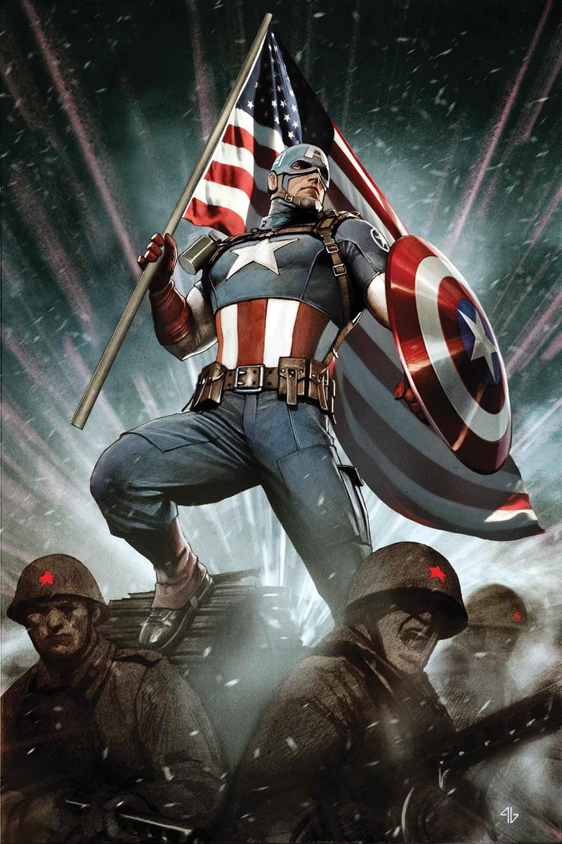 Collecting Captain America Comic Books As Graphic Novels