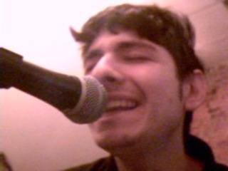 Definitely one of the more attractive faces i make while singing, if you can believe it...